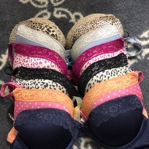 Bra bundle. 6 push-up aerie bras.